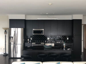 Kitchen and bathroom cabinets and stone countertops