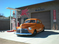 Street Rod ' 47 Chevy Fleetmaster Coupe   $24,500 U.S  Mesa A.Z.