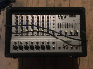 Vibe 7 Channel Amplification Mixer