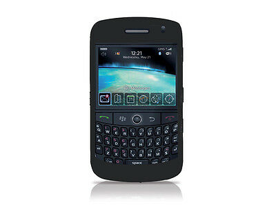Silicone Skin Cover Curve (Black SILICONE CASE SKIN COVER for Blackberry Curve 8900)