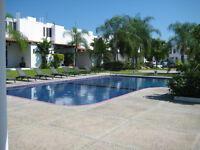 Beautiful 3 Bedroom Townhouse End Unit w/Large Yard Bucerias Mex
