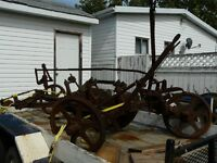 HORSE DRAWN DISC PLOW