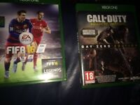 FIFA 16 and call of duty advanced warfare for sale 15 pound or 10 pound for Fifa and 5 for cod