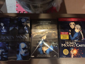 3 Movie Anime DVD Collection