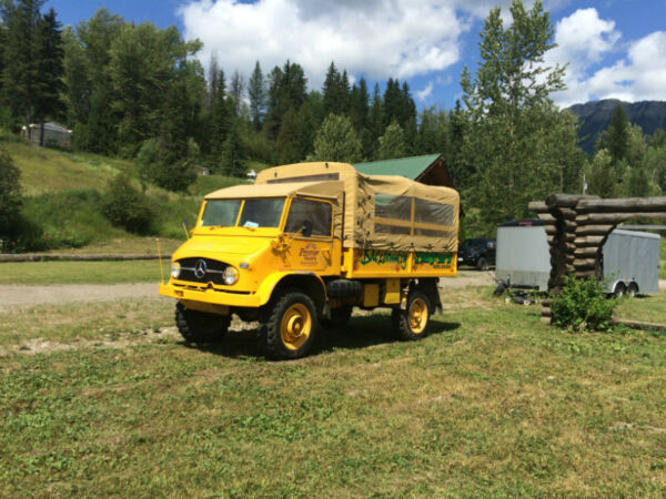 Used 1964 Other 1964 Unimog 404 gas Touring Truck