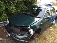 Volkswagen polo 1.4 2001. Spares and repairs. Best offer accepted!!