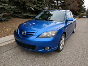 2005 Mazda 3 GT With Remote Starter & New Winter Tires!!!!!