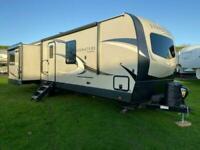 Rockwood 8329SB Travel Trailer American Caravan Static 3 Slides Showman Static