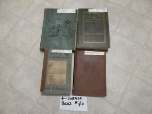 4 VINTAGE BOOKS   ALL FOR $15 OR BUY INDIVIDUAL    IN TRAIL