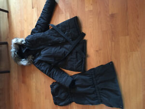 Manteau d'hiver avec panneau amovible