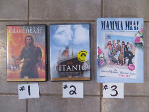 NEW DVDs - $5 to $10