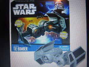 STAR WARS Imperial Tie Bomber  From Wal-Mart Strathcona County Edmonton Area image 3