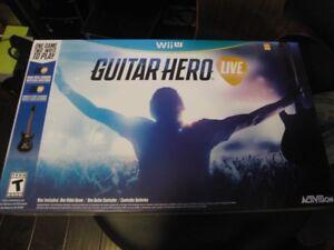 Guitar Hero Wii Live New in Box Nintendo