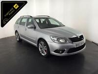 2012 SKODA OCTAVIA VRS TDI CR S-A DIESEL ESTATE 170 BHP FINANCE PART EXCHANGE PX