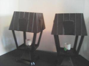 2 Lampadaires Extérieurs