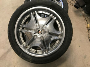 """22"""" tires and rims"""