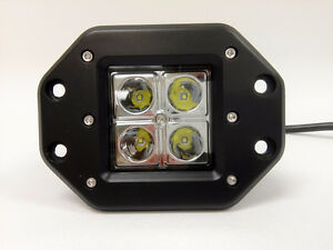 "3.5"" 16W Flush mount LED Work Light London Ontario image 2"