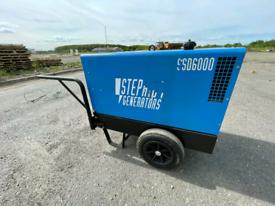 SSD6000 Diesel Generator as new