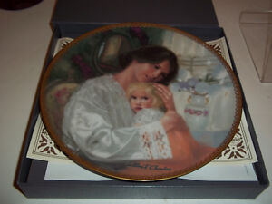 "Mother's Day1988 Collector Plate 8 1/2"" dia """