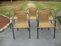 Bistro Wicker Chairs