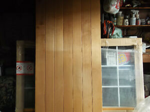 Cedar Plank Exterior Door for Sale