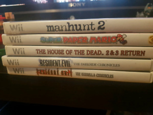 Wii games good condition