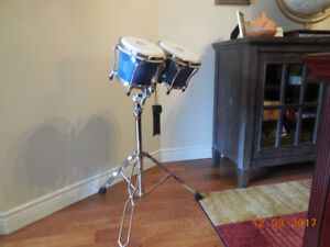 PROFESSIONAL BONGO SET WITH STAND