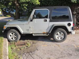 2004 Jeep TJ SUV, Crossover