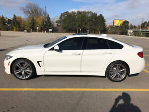 2017 BMW 440i xDrive Grand Coupe- Alpine White (exterior)