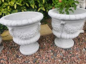 Large Concrete Pots