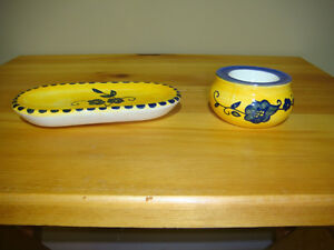 Decorative Jewellery / Jewelry Dish and Tea Light Candle Holder