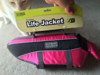 Brand New Dog Life Jackets