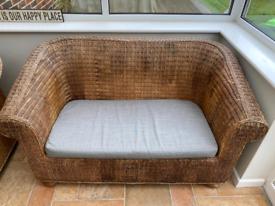 Rattan furniture sofa seat outdoor / indoor