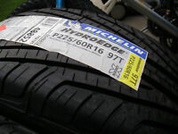 New Michelin tires