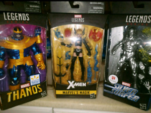 Marvel Legends - Wolverine, Cyclops, Phoenix, Thanos and more