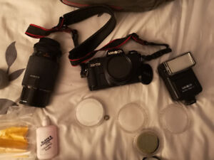 Selling Minolta X74 and accessories