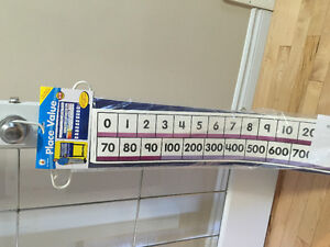 For Teachers, Dayhomes...Place Value Pocket Chart with Numbers