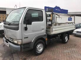 2005 05 NISSAN CABSTAR FLATBED VERY SOUGHT AFTER NEW GEAEBOX FITTED !!! NO VAT !