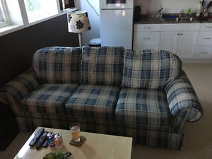 Queen sized hide a bed couch in excellent condition!