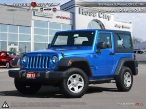 2015 Jeep Wrangler 2DR 4WD SPORT  - Cruise Control