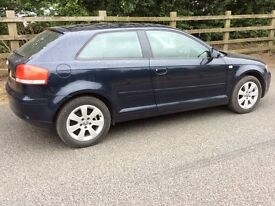 AUDI A3 2004 MODEL 2.0 FSI SPORT GREAT SPEC DRIVES GREAT VOLKSWAGEN SEAT