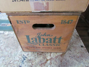 Labatt Classic Special Edition with Wood Case - Numbered Peterborough Peterborough Area image 10