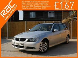 2006 BMW 3 Series 320d SE Turbo Diesel 6 Speed Auto Touring Estate Full Leather