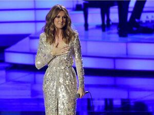 Celine Dion au centre bell 450 $ la paire 5 Août Montréal show