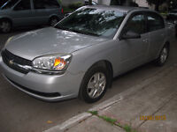2005 Chevrolet Malibu LS 4cyl 2.2 automatique air impécable