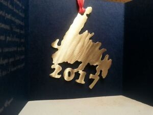 Handmade Right Here - Tree Ornaments from Jewellers Brass
