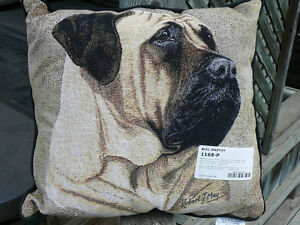 Bullmastiff pillow, Bull Mastiff pillo, Robert J. May Tapestry Oakville / Halton Region Toronto (GTA) image 1