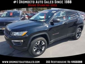 2017 Jeep Compass Trailhawk Trailhawk 4x4 Sunroof,Nav,Heated...