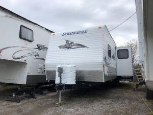 2010 SPRINGDALE 291rkssr fully loaded nice solid trailer $10,900