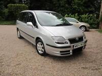 2004/04 Fiat Ulysse 2.0JTD 16v auto Diesel 7 seat MPV Eleganza SILVER
